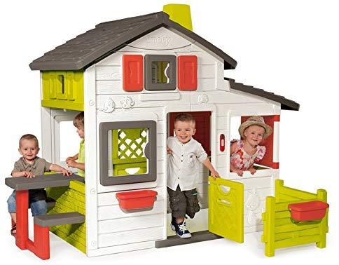 La maison Smoby Friends House est parfaite pour jouer à plusieurs !