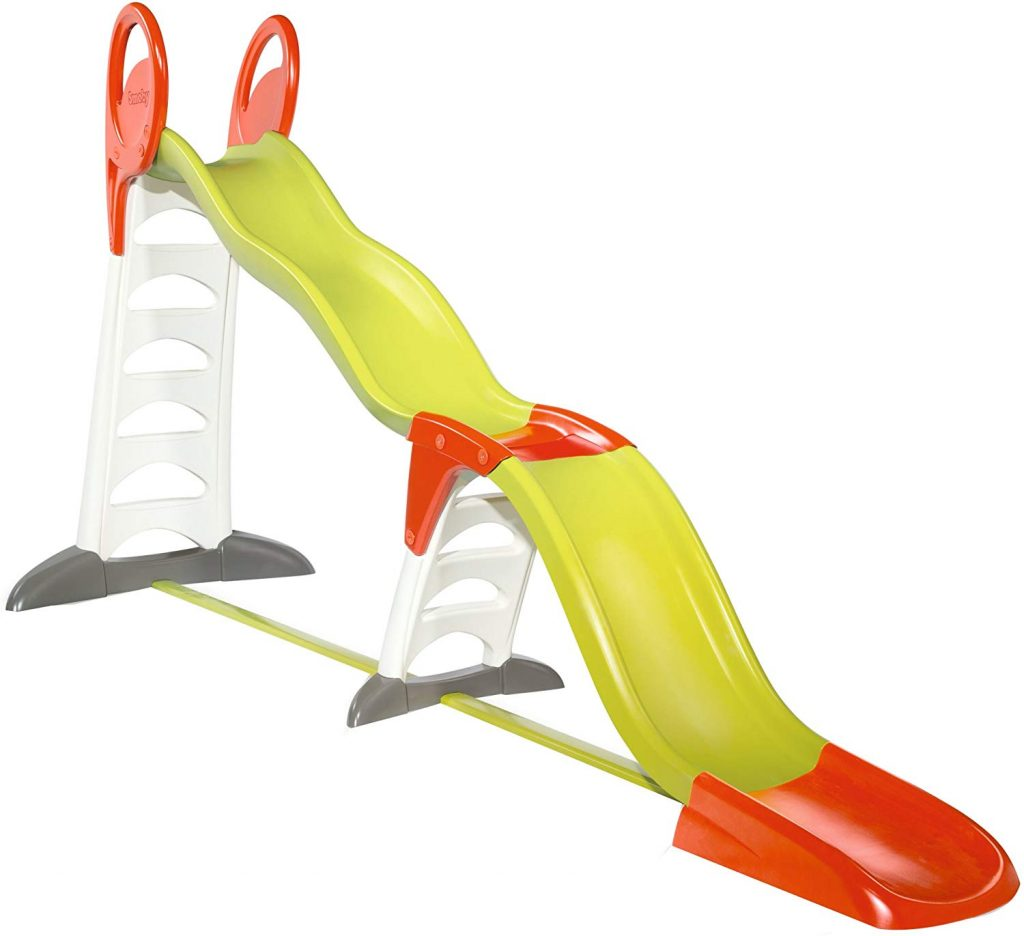 Le toboggan Super Megagliss a une double vague.