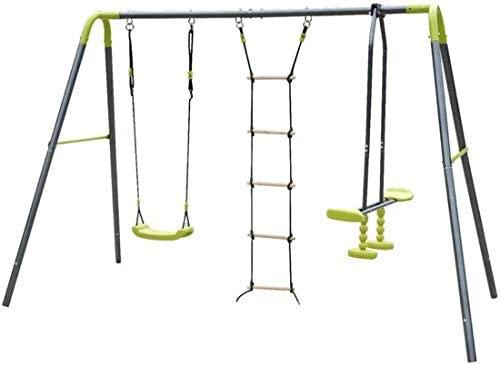 La balançoire enfant Maxxgarden propose 3 jeux différents en 1 seul.